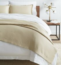SFERRA FAVO COTTON MATELASSE / BED COVERLET FROM PORTUGAL