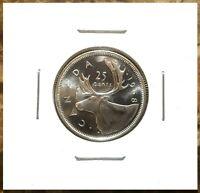 Canada 1968 Silver Quarter 25 Cents Gem BU UNC Blast White!!