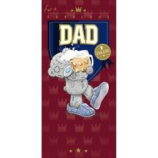 For a Fabulous DAD - Oblong - Tatty Teddy Me to You - Birthday Card