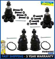 2 Upper & Lower Front Ball Joints Pair For a 99-07 Silverado 1500 or Sierra 1500