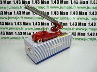 DT103E Voiture réédition DINKY TOYS atlas : 32D Delahaye Echelle de Pompiers