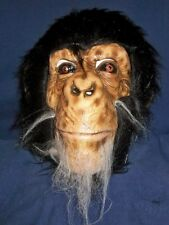 CHIMP MONKEY ANIMAL LATEX MASK COSTUME DRESS TA507