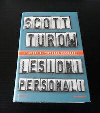 Lesioni personali - Scott Turow - Prima Edizione Omnibus Mondadori -
