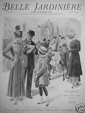 PUBLICITÉ 1915 BELLE JARDINIÈRE VÊTEMENTS POUR HOMMES DAMES ENFANT - ADVERTISING