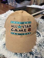 New ListingVtg Sports Specialties San Jose Sharks Snapback Hat 1997 Nhl All Star Game Rare