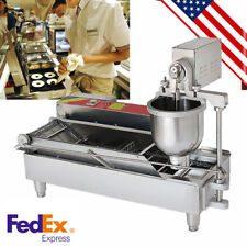 Auto Commercial Huge Donut Fryer Maker Making Machine Best Donut Robot From Usa
