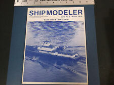 VINTAGE WINTER 1979 SHIP MODELER BOOK  STEAM  RADIO CONTROL   *G-COND*