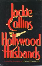 Hollywood Husbands by Jackie Collins~Hardcover & Dust Jacket~Difficult To Find