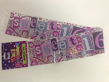 Age 16 Birthday Banner 16th Birthday Party Decoration 9ft Banners Sweet 16 Party