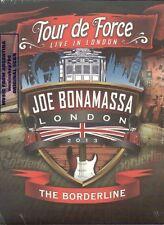 2 DVD SET JOE BONAMASSA TOUR DE FORCE LIVE IN LONDON THE BORDERLINE NEW 2013
