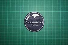 UEFA CHAMPIONS LEAGUE WINNER BADGE 2003-2004