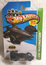 2012 HOT WHEELS BATMAN LIVE BATMOBILE HW IMAGINATION RARE MOC! 65/247!