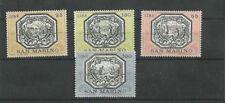 San Marino 1972 Allegories of San Marino  MNH