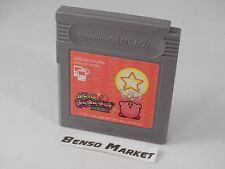 KIRBY NO KIRAKIRA KIDS DMG-AKXJ KIRBY'S STAR STACKER NINTENDO GAME BOY GB JP JAP