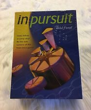 In Pursuit by Trival Pursuit Board Game New/Sealed 2001 Hasbro Adults 4-8 Player