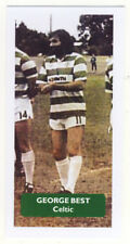 CELTIC / Manchester United GEORGE BEST - Score UK football trade card