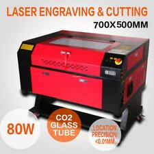 80W 700*500MM CO2 lasergraviermaschine Schneiden Lasergravur Gravur engraver