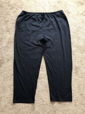 CW Classics Unisex 100% Cotton Sweatpants Plus Size 4X Black New