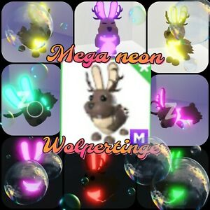 Mega neon Walpertinger - virtual mythic pet in the game Adopt me! in Roblox