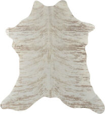 ECHTES MINI KUHFELL KALBSFELL 95 x 65 cm EXOTIC COWHIDE