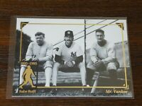 Babe Ruth **Rare** Card - Mr. Yankee | 1895-1995 Cooperstown Collection #13