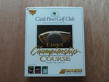 Links Championship Course: Castle Pines Golf Club Video Game PC, 1994 MS-DOS 3.5