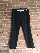 Black Fleece Tuxedo Pants Size BB4  33 x 31 100% Wool