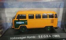 Volkswagen Kombi 1983 SEGBA Rare Diecast Scale  1:43 Argentina Collection