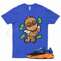 Royal SKI BABY T Shirt for Yeezy 700 Bright Blue Orange 350 380 500 Sun Cream