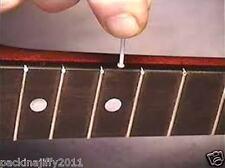 5 X di direzione laterali Chitarra Fret intarsio DOT ASTE DIAMETRO 2.5 mm in bianco