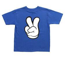 kids peace sign t-shirt 2 4 6 8 10 kids t-shirt youth tee shirt peace symbol