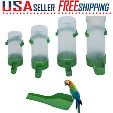 Automatic Bird Cage Water Dispenser Hanging Drinker Container Feeding Tools Us