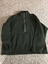 Patagonia Wool Coat Men's XL Green Driving Range Jacket