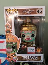 Pop Asia Toy Tokyo Funko Pop Vinyl Figure Tossakan White GLOW GITD EXCLUSIVE