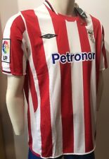 CAMISETA SHIRT UMBRO 2009/10 XL RARE ATHLETIC CLUB BILBAO NUEVA! CENTENARIO