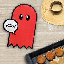 Red Ghost Oven Mitt from Meninos. Retro Gaming Pac man style oven glove