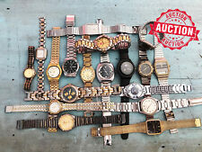 LOT 18 x Vintage Assorted Parts Watches Watchmaker Estate - No Reserve Auction