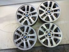 6775595 SET 4 WHEELS ALLOY 16 INCHES 5 HOLES 7JX16 EH2+ ET 34 BMW SERIES 1 1