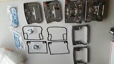 Harley Davidson Rocker Cover Kit Chrome Evo Big Twin 84-99 W-gaskets FLSTC FLSTF