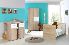 moebel-dich-auf ELISA 1 Babyzimmer in Eiche Sonoma / Weiß