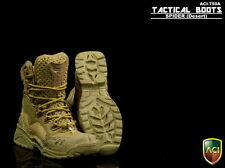 "ACI 1/6 Scale Tactical Boots Spider Desert Shoes For 12"" Male Action Figure Body"
