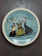 Newell Pottery Co. When in Rome Norman Rockwell Norm Dean Bill Collector Plate