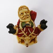 Holy Roller - Harmony Kingdom Santa Father Christmas Box Figurine - TJSESA99