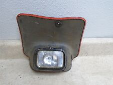Honda 185 XR XR185 XR185 Front Number Plate Headlight Shroud XR500 1979 HB230