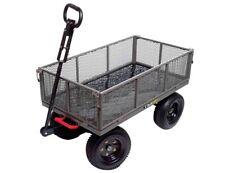 Gorilla Carts 1,200 lb. Steel Dump Cart Wagon Garden Yard Heavy Duty Lawn NEW