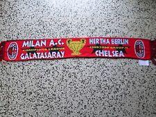 sciarpa MILAN CHELSEA GALATASARAY HERTHA champions league 2000 football scarf