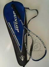 Dunlop Hotmelt Titanium Squash Racquet 500cm² head & Zipper Bag Great Condition