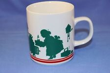 AVON Vintage 1984 Mrs. Clauss with Elves at dinner Coffee or Tea Mug.