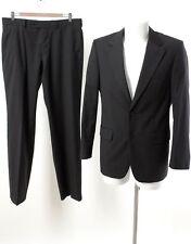 HUGO BOSS Anzug Gr. S/ 48 Wolle SUPER 130'S Sakko Hose Business Suit