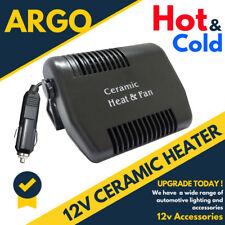 Calentador de coche 12 V 2 en 1 Desempañador Antivaho Frío Caliente Secador de pelo Ventilador van camión